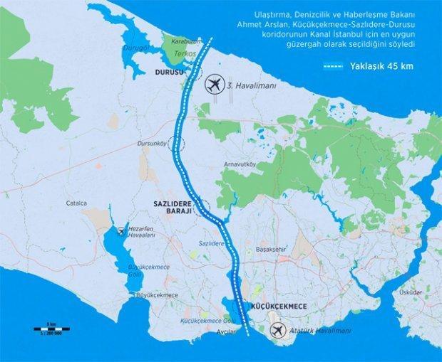 Sizce Kanal İstanbul projesi hayata geçirilmeli mi?