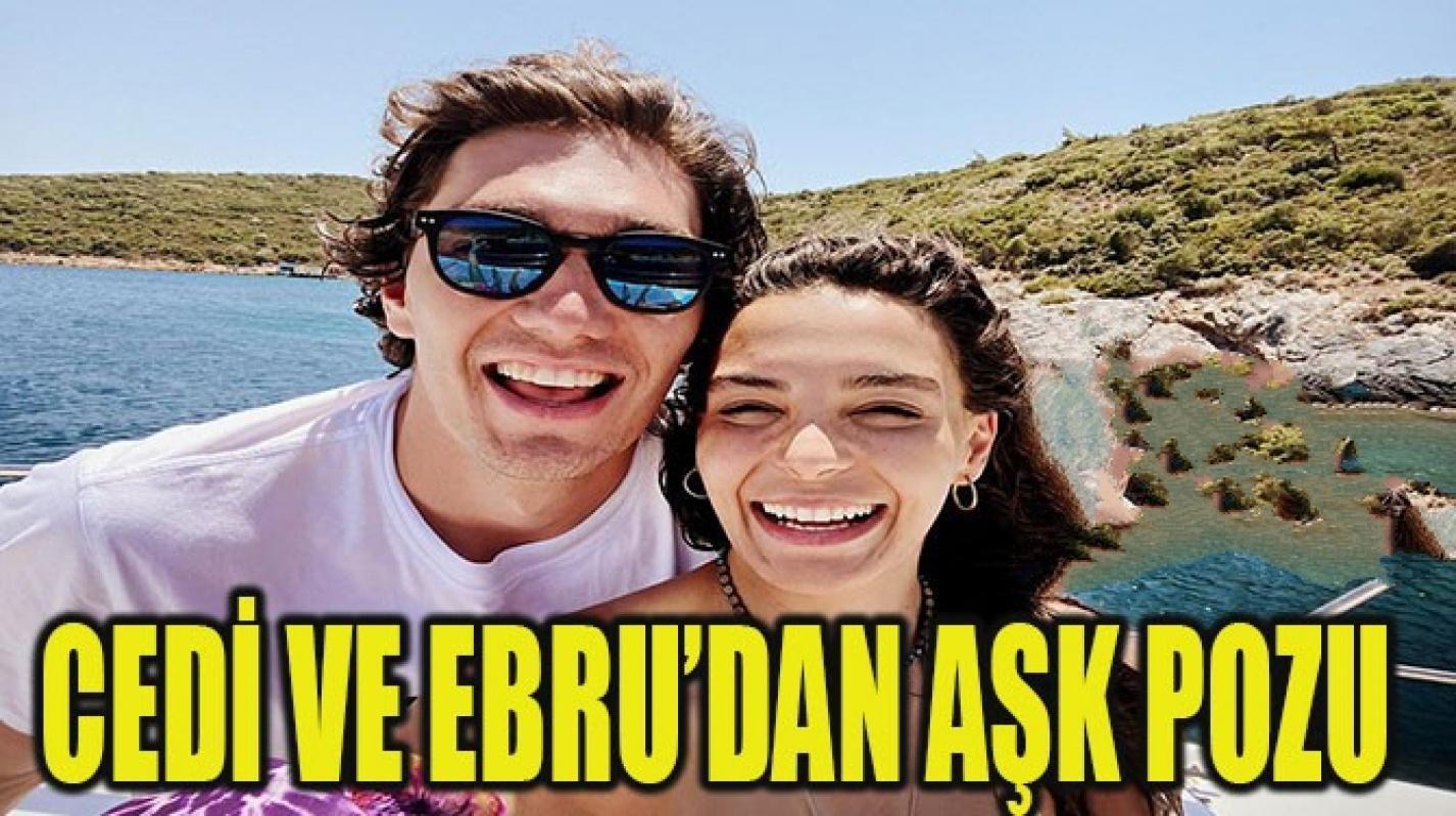 Ebru Şahin ve Cedi Osman'dan aşk pozu
