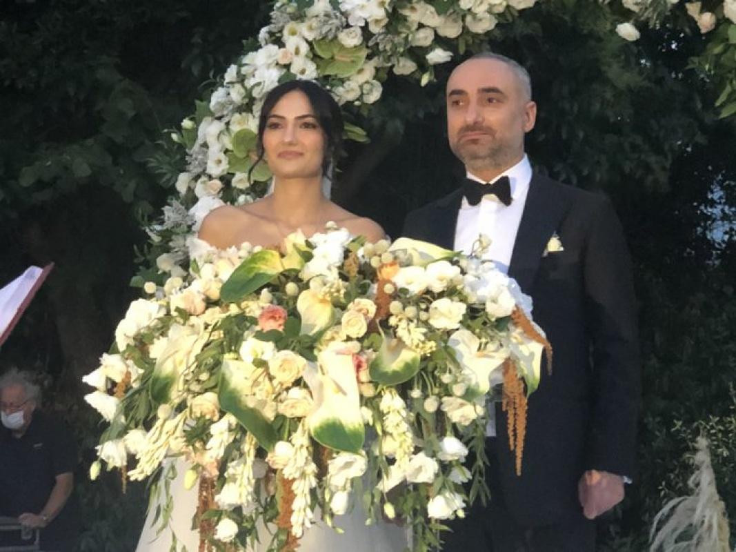 Gazeteci İsmail Saymaz evlendi