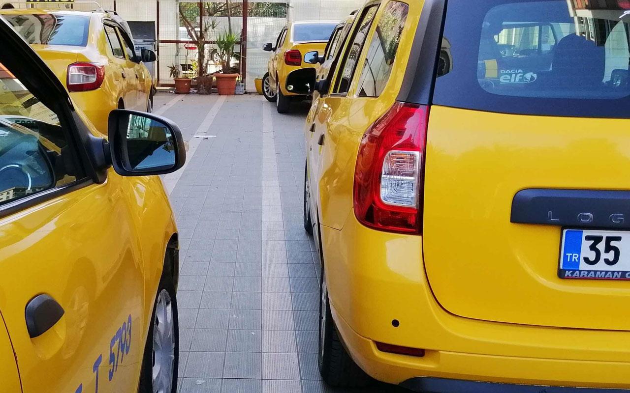 İzmir'de taksi ücretlerine zam geldi! İşte yeni taksi ücretleri