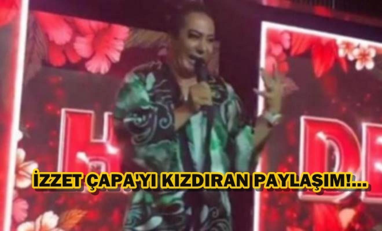 İzzet Çapa'dan Murat Övüç'e Cahide tepkisi