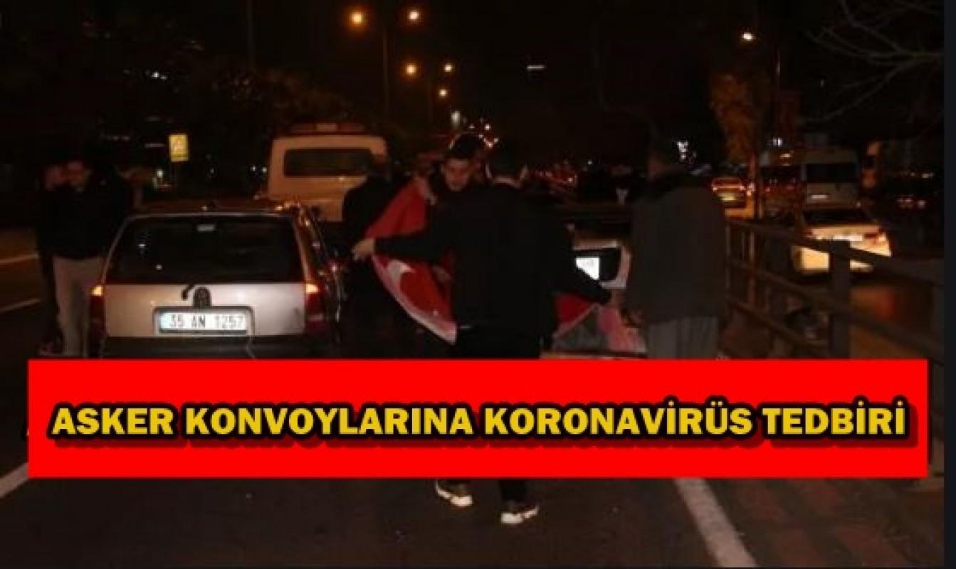 Koronavirüs tedbiri! Asker adayları konvoy taahhütnamesi imzalayacak