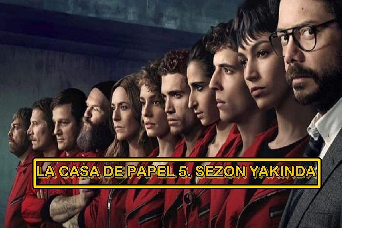 La Casa de Papel 5. sezon ne zaman yayımlanacak?