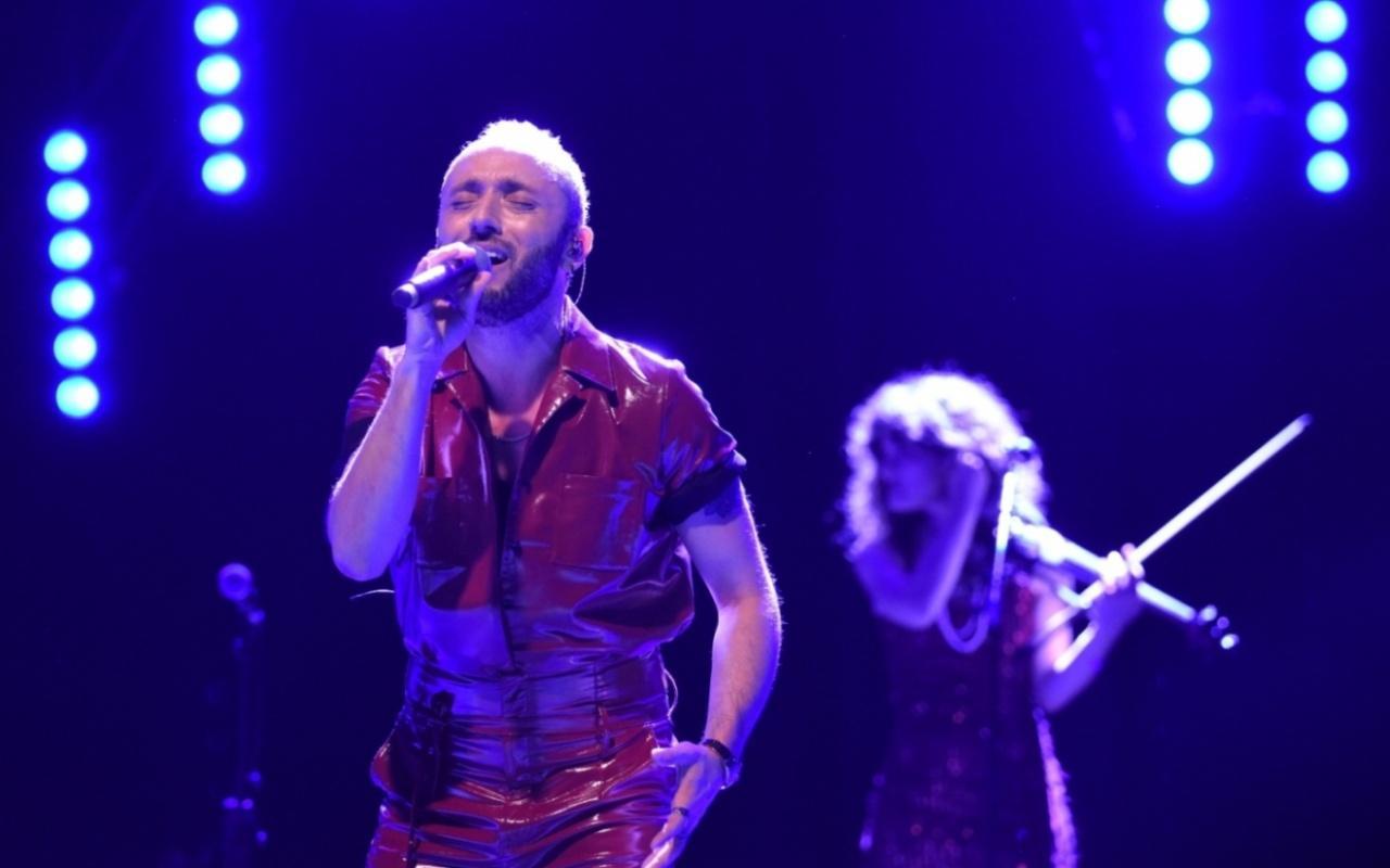Mabel Matiz Harbiye Açıkhava'da 2 şarkıya bis yaptı
