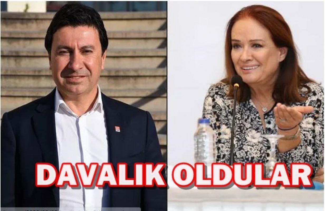 Müjde Ar Bodrum Belediye Başkanı Ahmet Aras'la davalık oldu