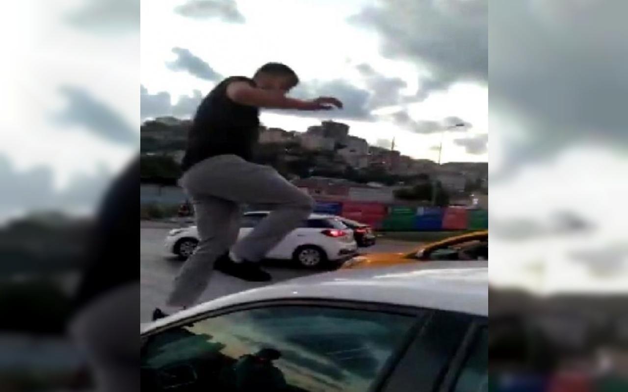 Trafikte kadına saldıran kişi hakkında yeni gelişme!