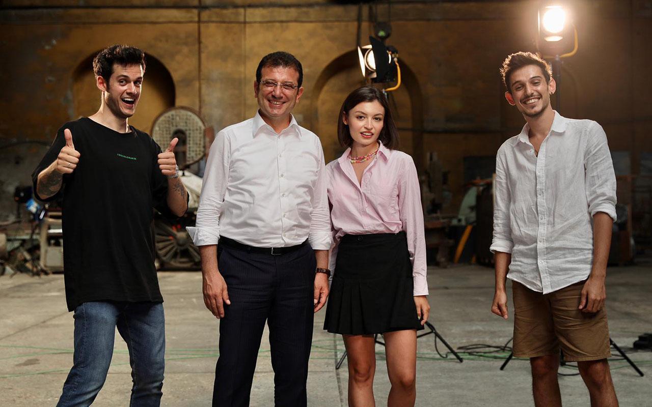 İBB Başkanı Ekrem İmamoğlu Youtuber Gençlerle Buluştu