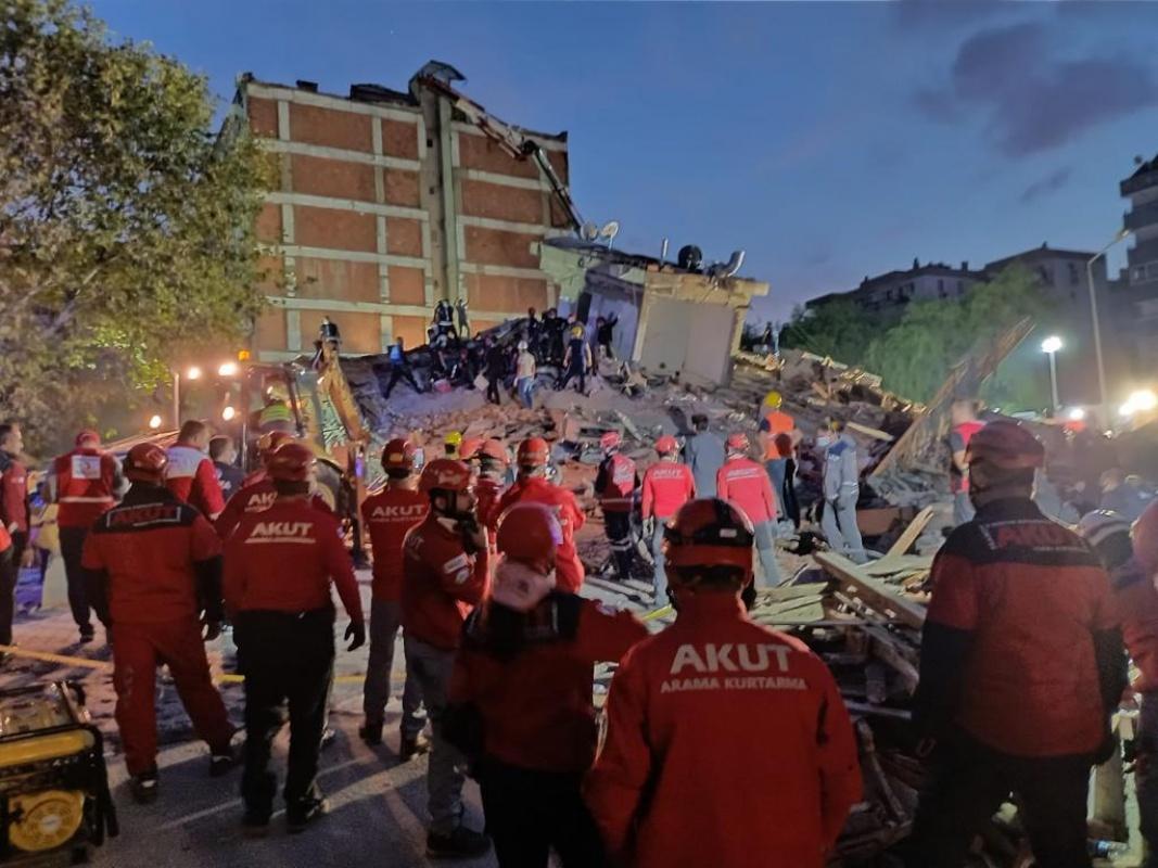 Akut'tan Ege-İzmir depremi hakkında açıklama