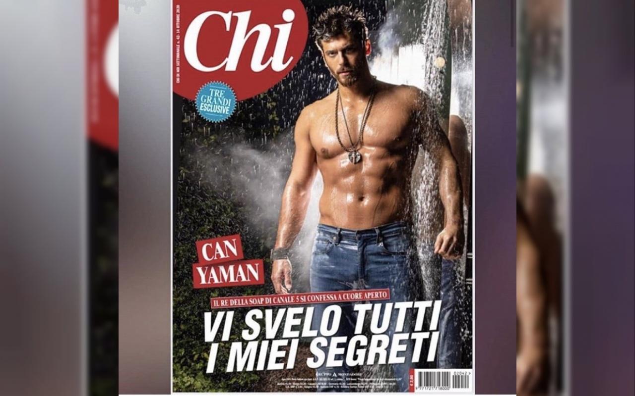 Can Yaman İtalyan Chi dergisine kapak oldu