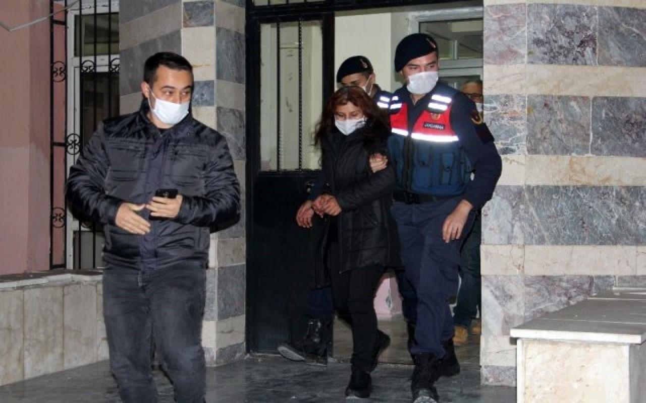 Eski kocasını öldürüp tandırda yakan kadın tutuklandı!