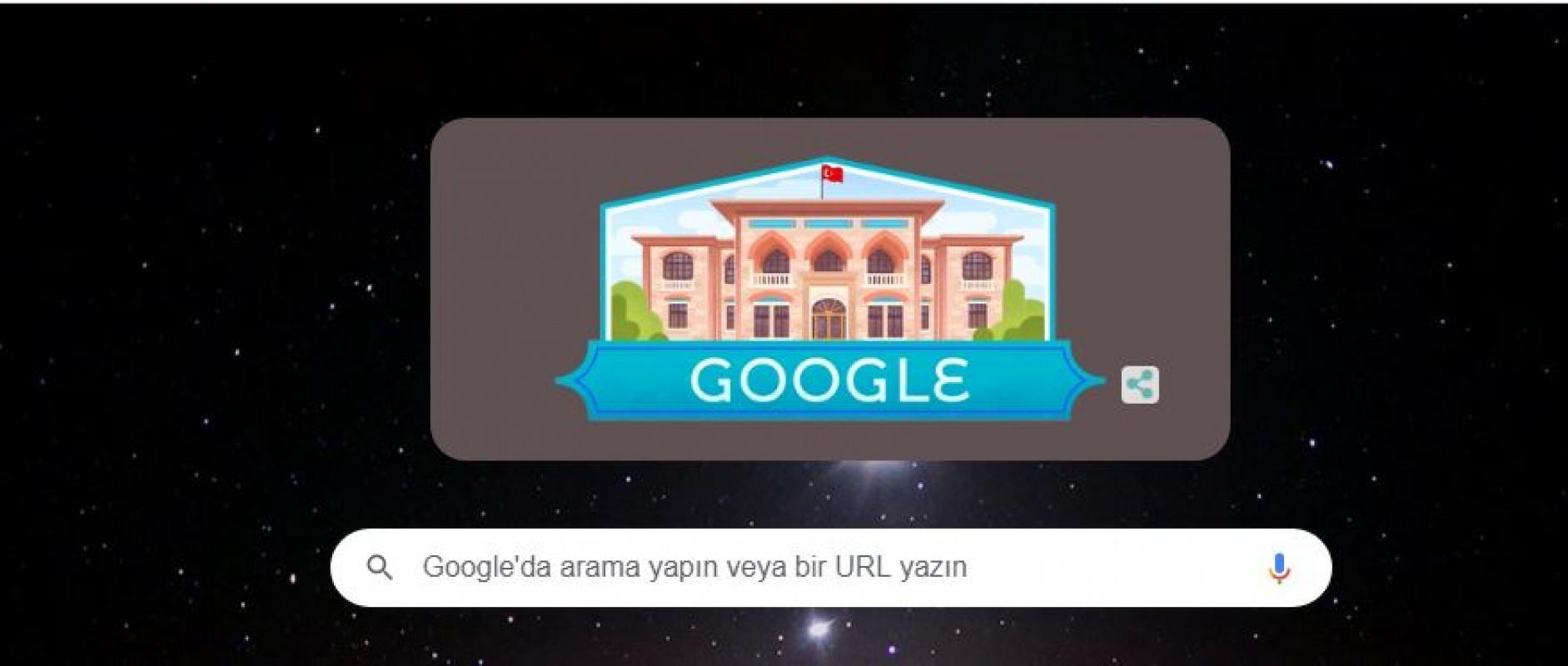 Google gelenedği bozmadı ve 29 Ekim'e özel doodle yayınladı