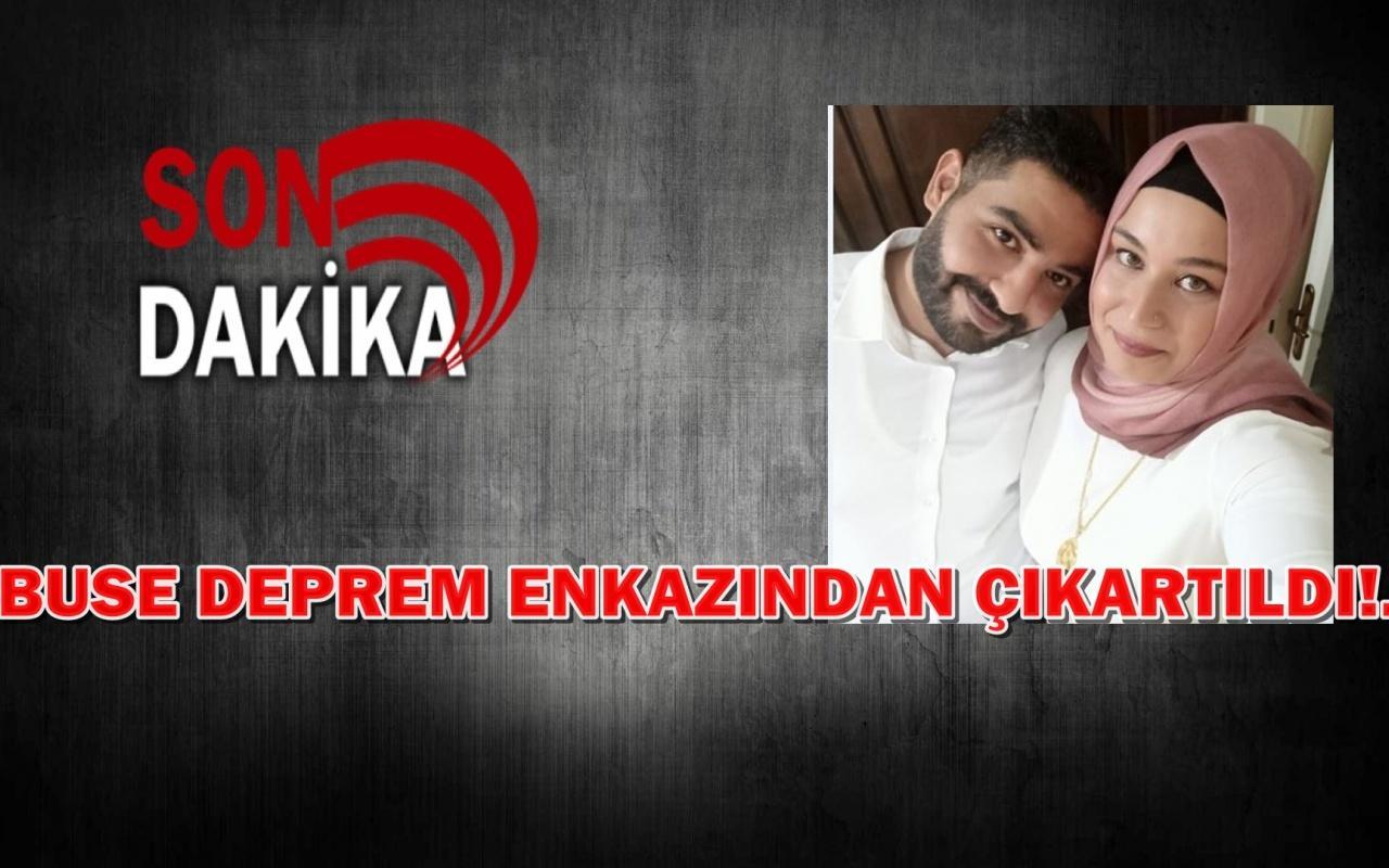 İzmir depreminin simgesi haline gelen Buse kurtarıldı