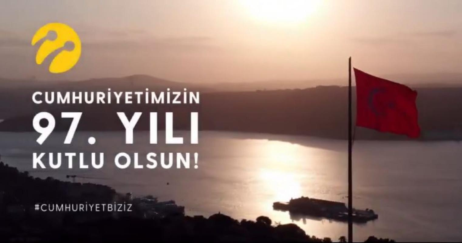 Turkcell, 29 Ekim Cumhuriyet Bayramı için özel reklam yayınladı