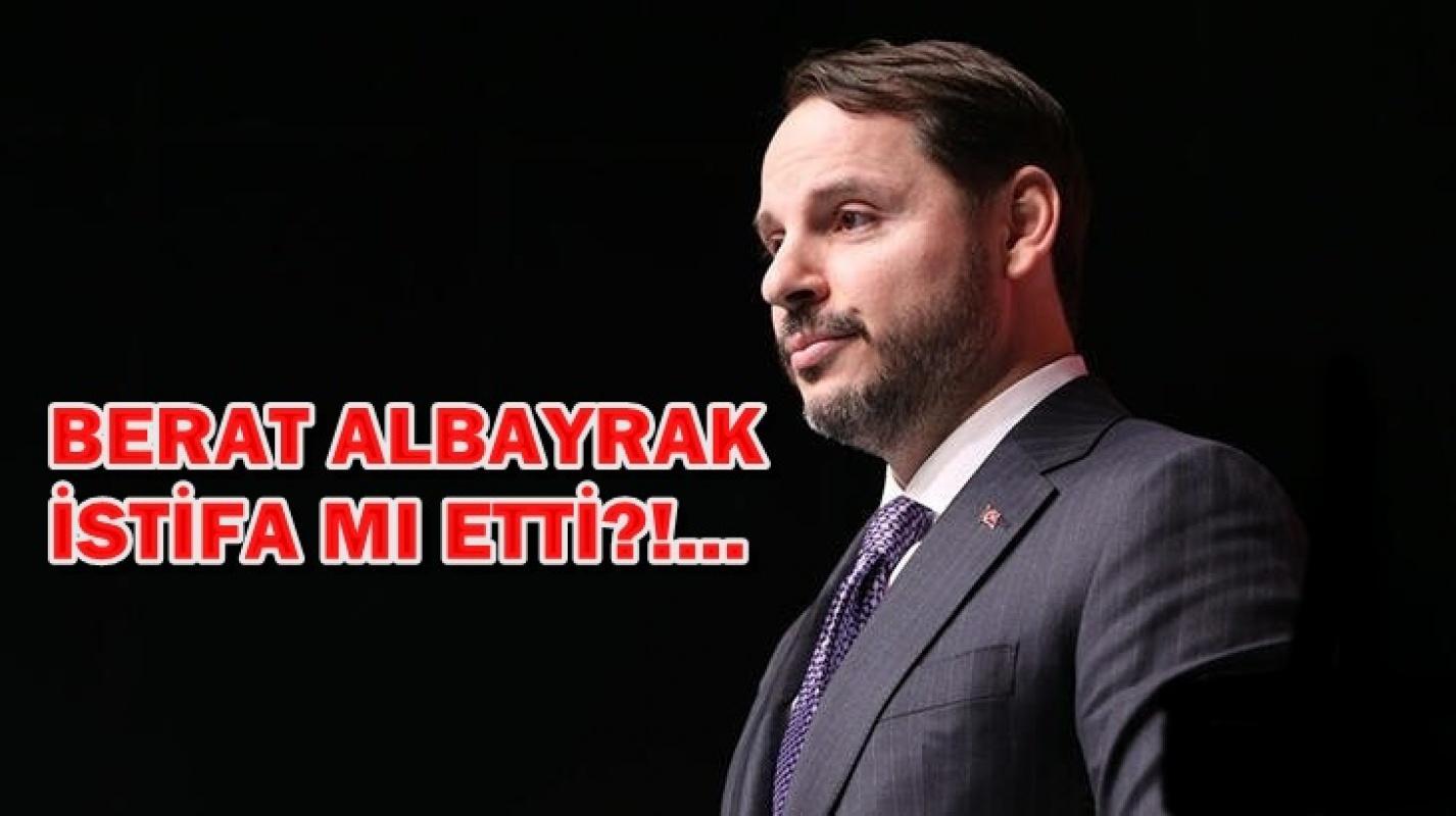 Berat Albayrak istifa mı etti?