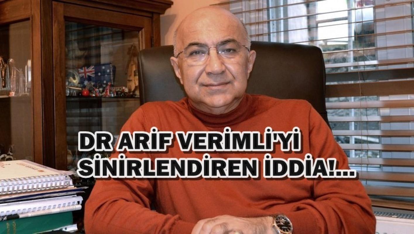 Dr Arif Verimli'den Covid-19 açıklaması 'Savcılığa başvuracağım da değmez'