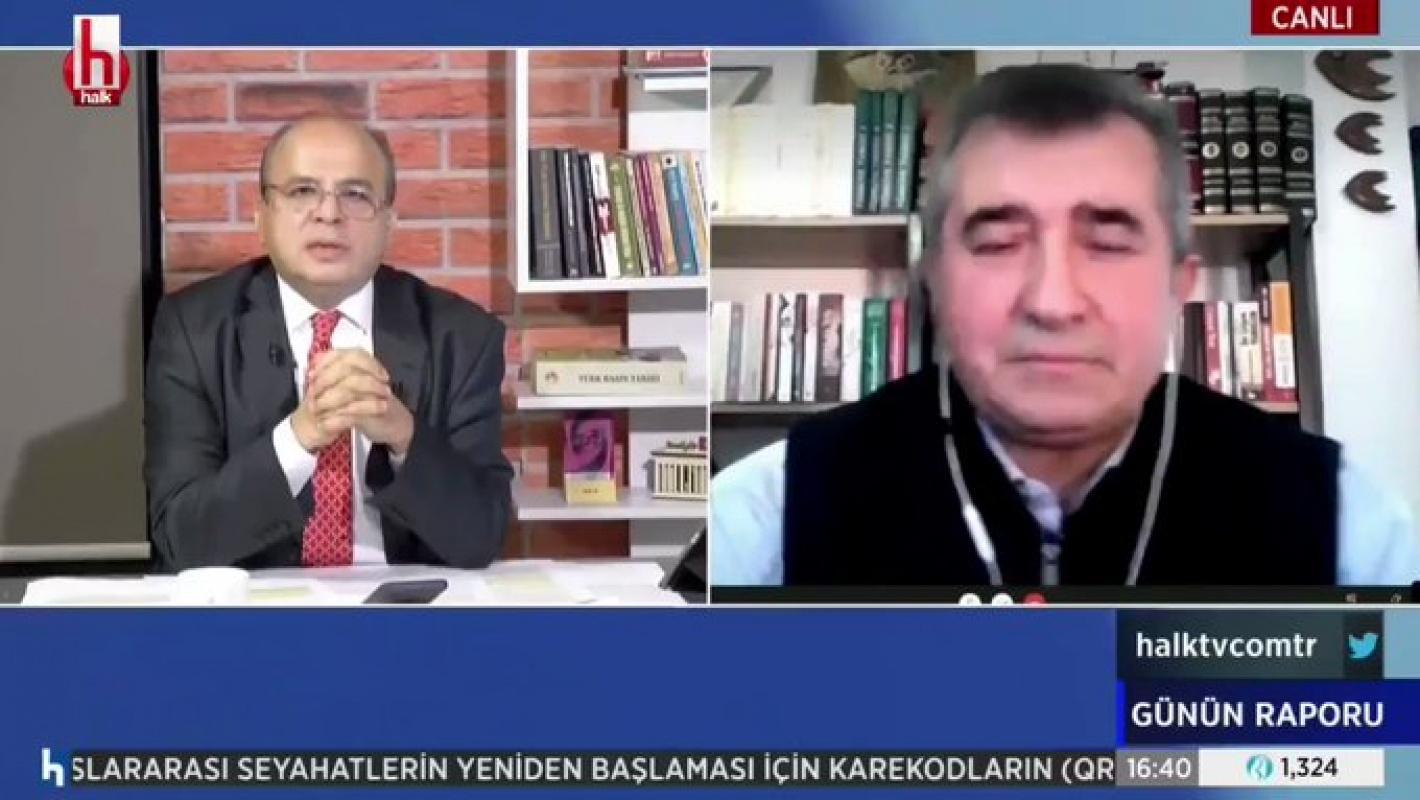 Fatih Ertürk annesinin vefat haberini canlı yayında aldı