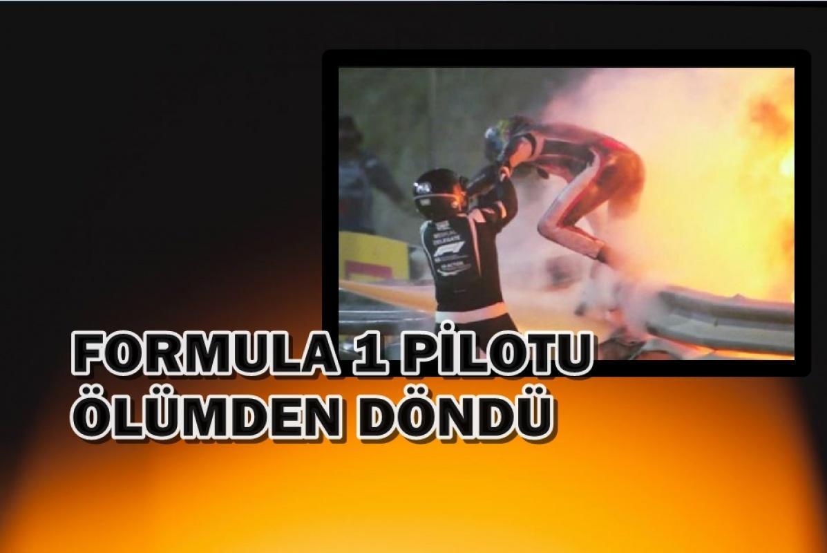 Formula 1 Pilotu Romain Grosjean resmen ölümden döndü