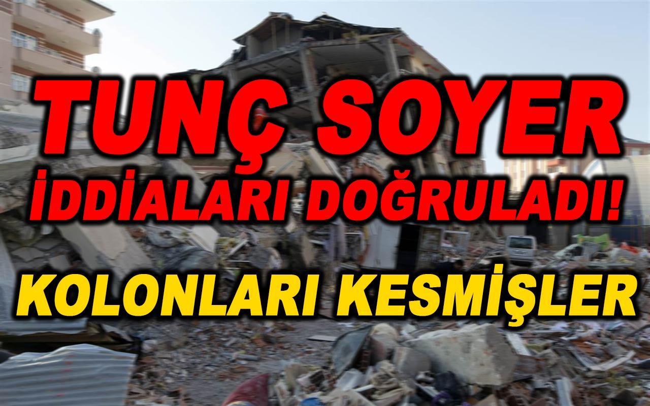 İzmir'de dehşete düşüren iddiaları Tunç Soyer doğruladı! Kolonları kesmişler