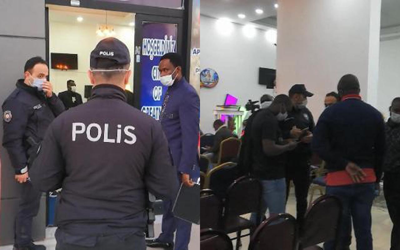 Polisin 'Parti var' ihbarına gittiği yer bakın ne çıktı!