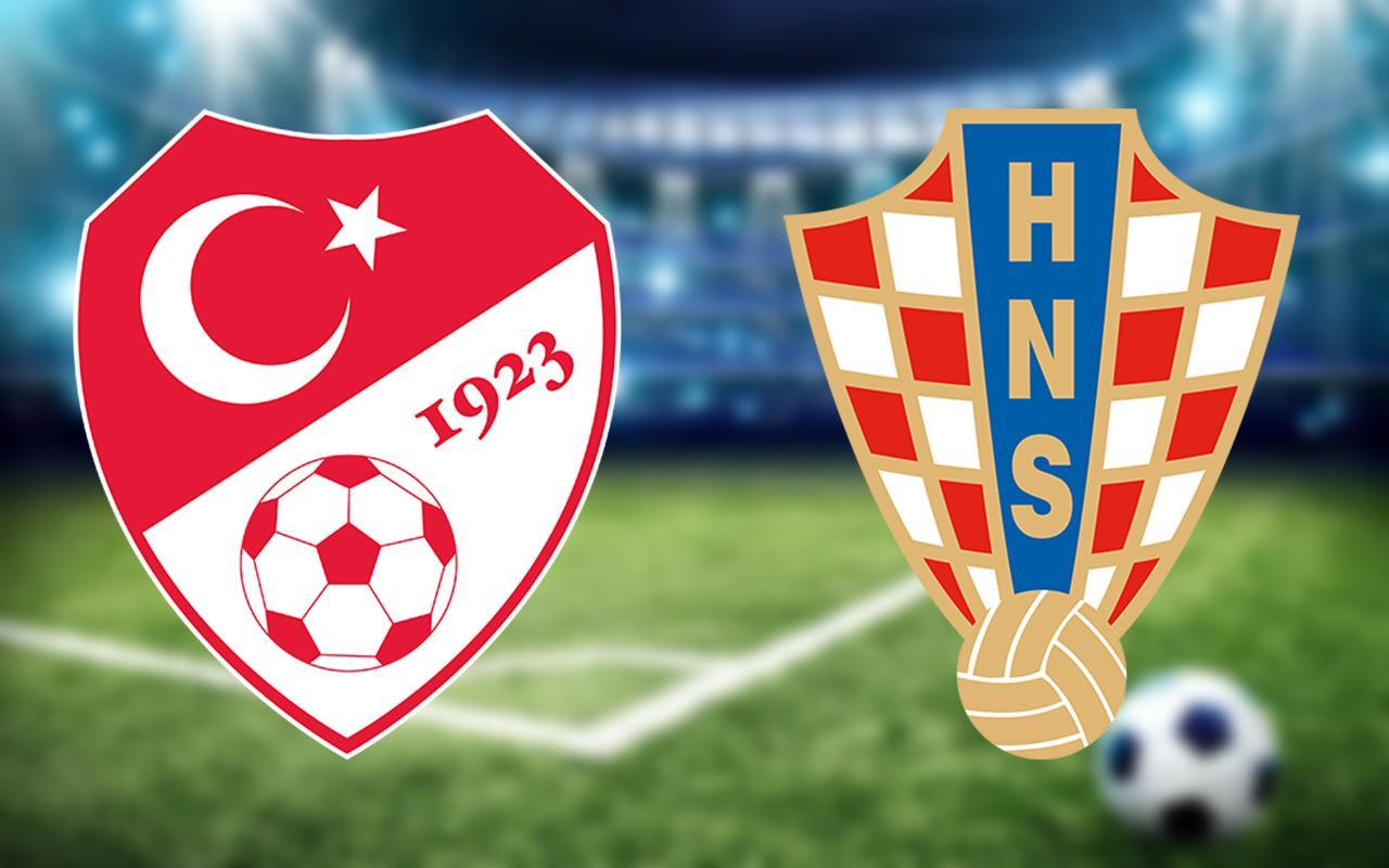 Türkiye - Hırvatistan maçı saat kaçta hangi kanalda?