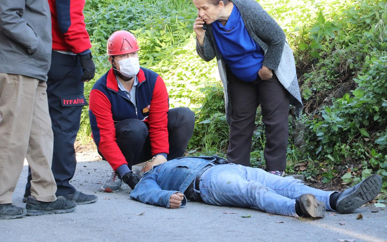 Zonguldak'ta akıl almaz olay! Her şey bir anda oldu