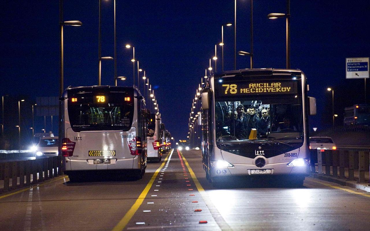 İstanbul'da 2021 Minibüs, dolmuş, taksi indi bindi ne kadar oldu?
