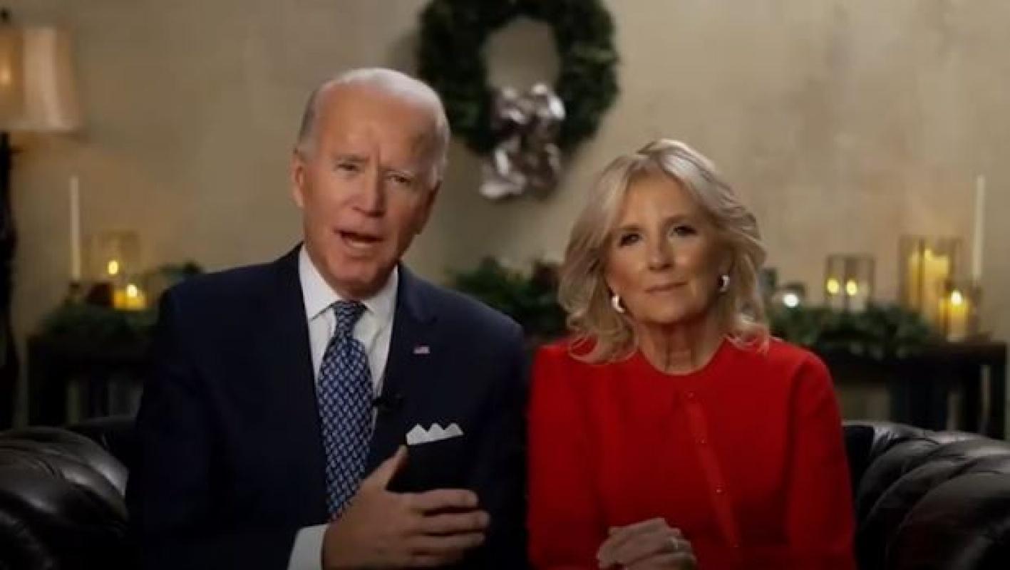 Joe ve Jill Biden'dan Noel mesajı! Daha parlak günler yakında