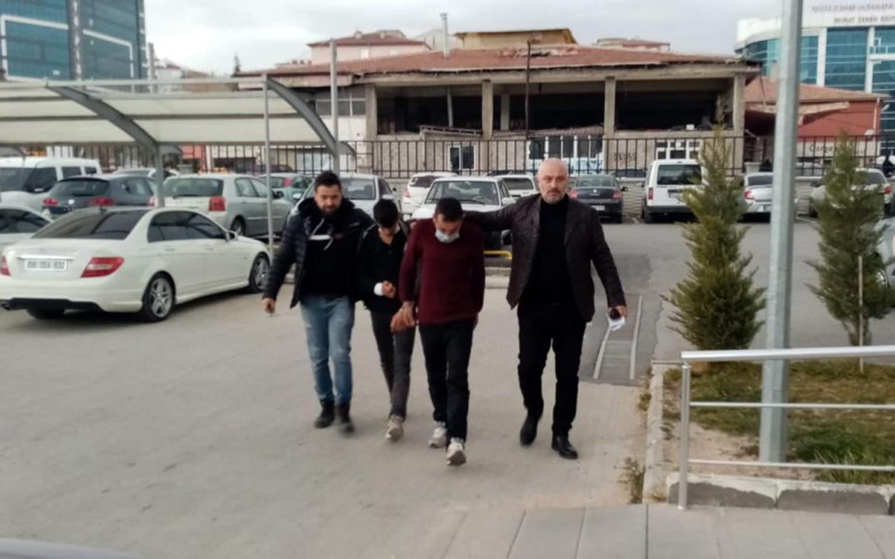 Niğde'de katil zanlısı 3 kardeş tutuklandı