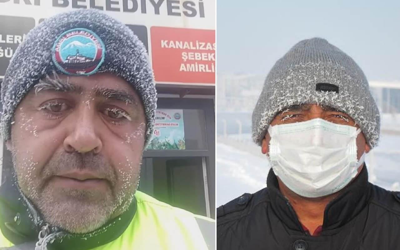 Doğu Anadolu adeta donuyor! Ağrı eksi 32.7 dereceyi gördü