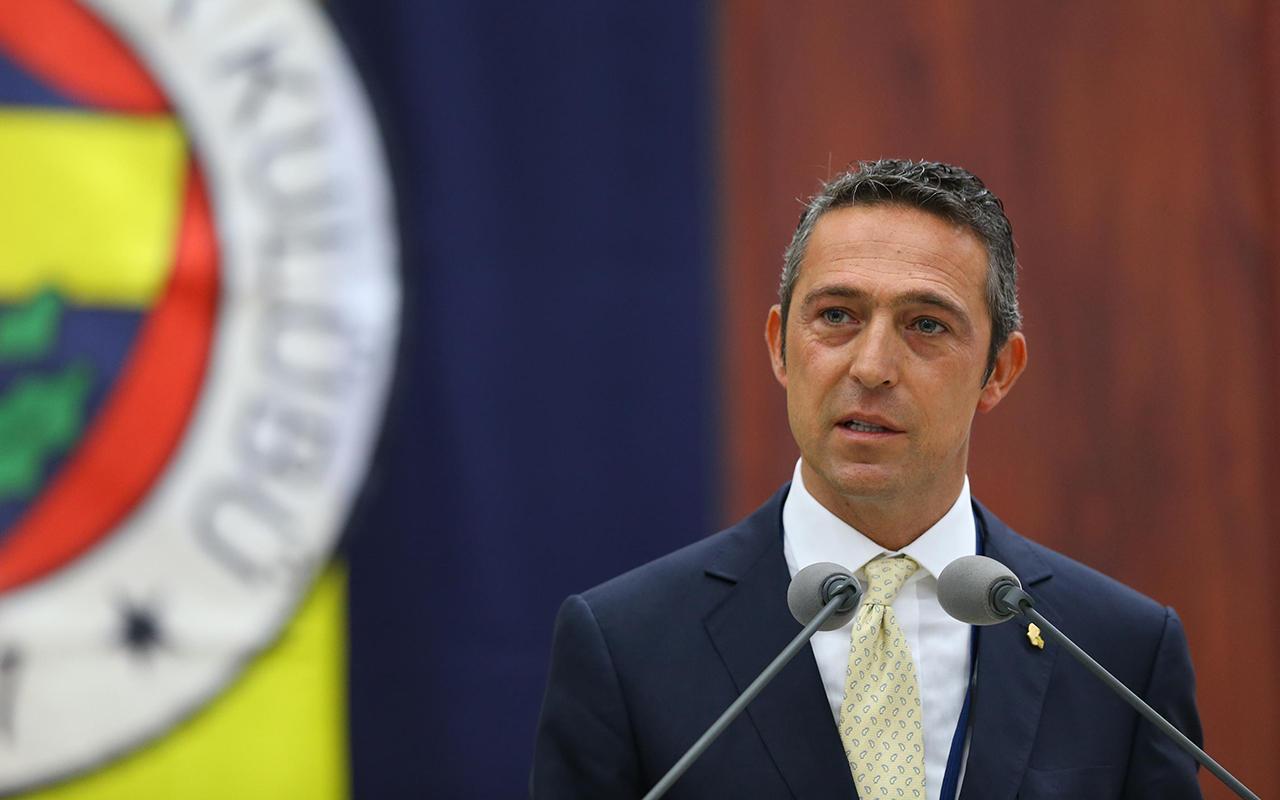 Fenerbahçe Başkanı Ali Koç'tan Galatasaray ve TFF'ye gönderme