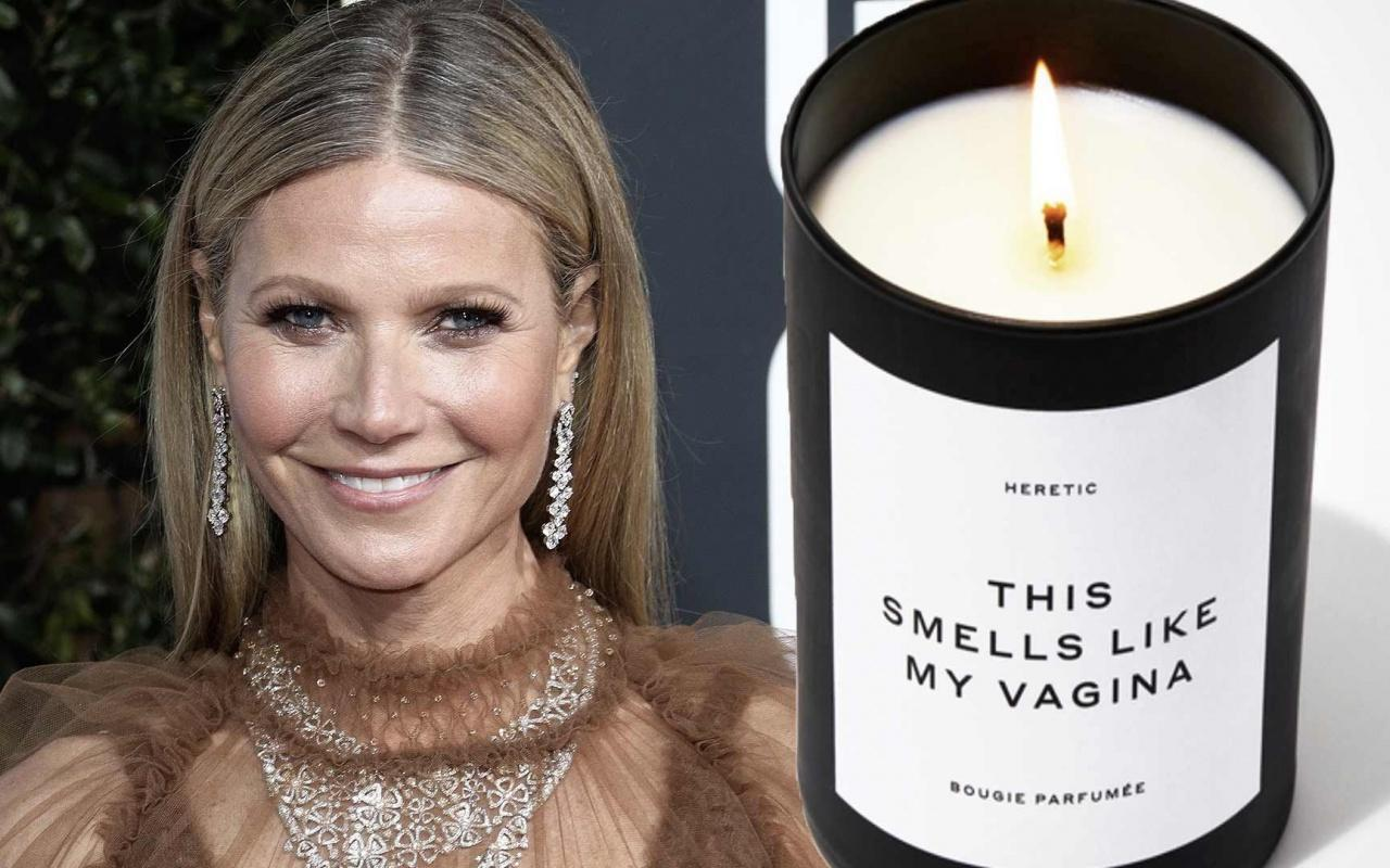 Gwyneth Paltrow'un vajina kokulu mumu evi yakıyordu