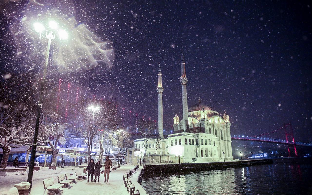 İstanbul'da kar yağışı ne zaman bitecek?