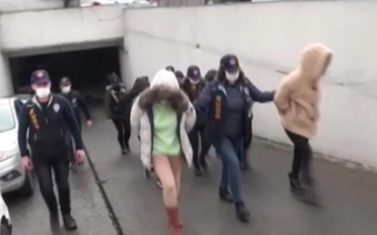 İstanbul Polisi jigolo şebekesini çökertti
