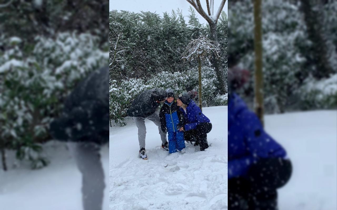 İşte Esra Erol'un kardan adamı!