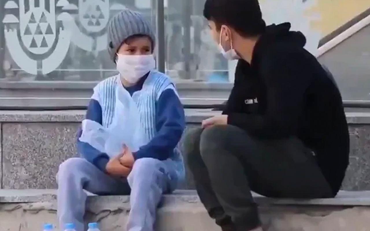 Sosyal Medyayı duygulandıran su satan çocuk olayı kurgu çıktı!