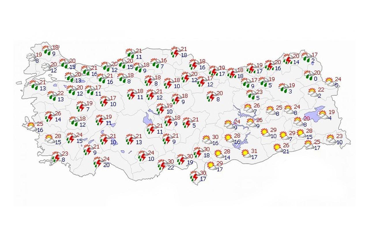 Doğu Karadeniz için kuvvetli yağış uyarısı yapıldı!