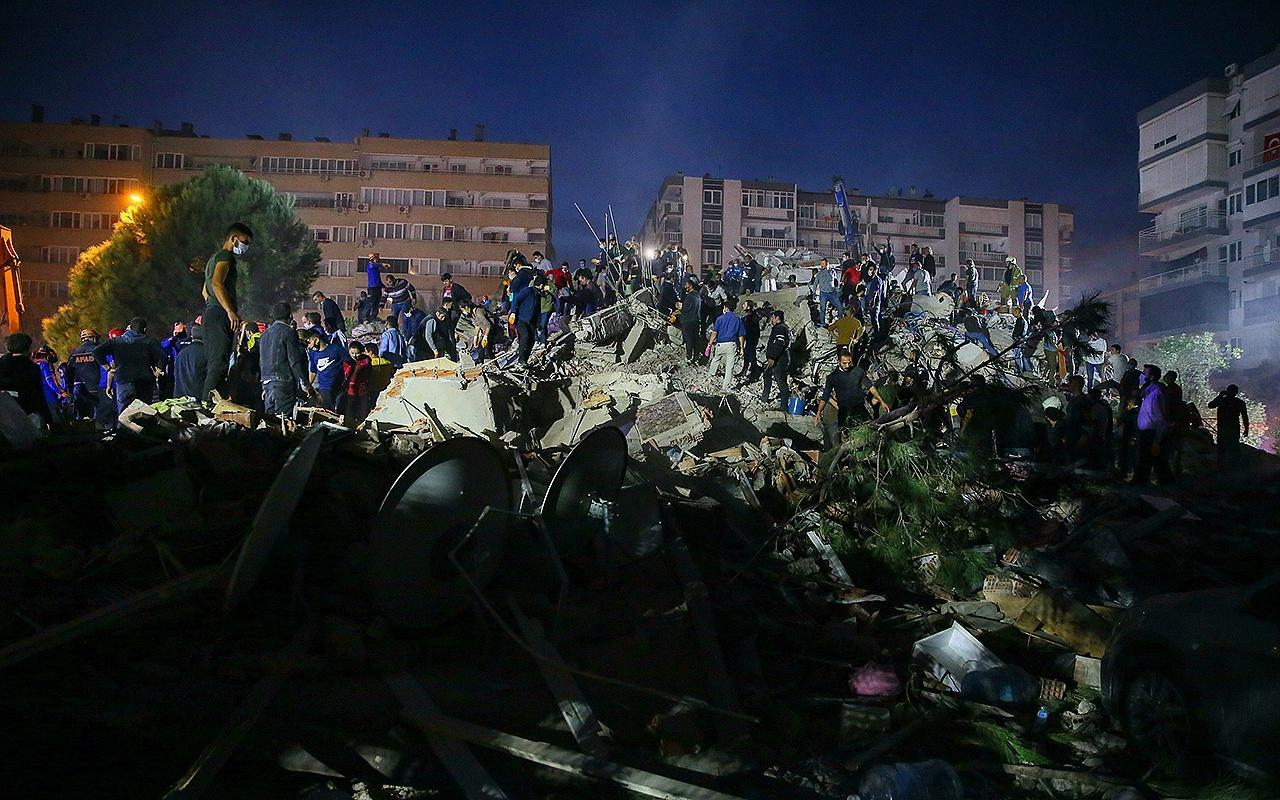 İşte İzmir'de meydana gelen depremin bilançosu!