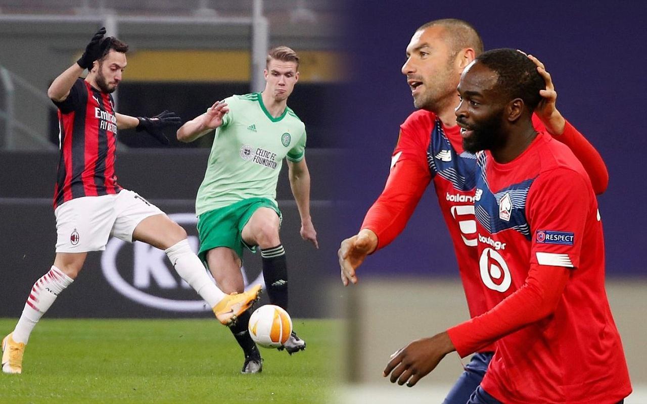 UEFA Avrupa Ligi'ne Milli oyuncularımız damga vurdu!