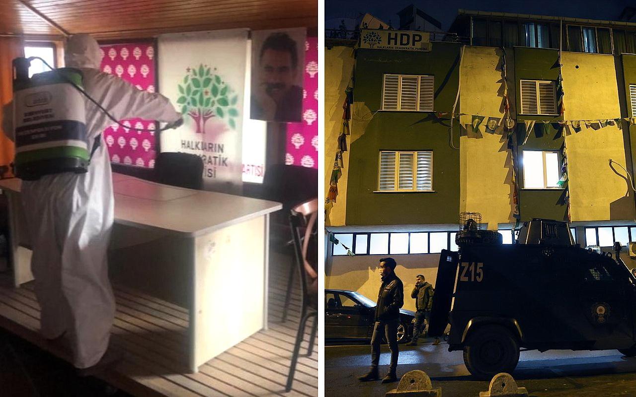 İstanbul Esenyurt HDP ilçe binasına operasyon düzenlendi