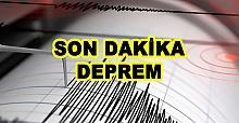 Son Dakika! İzmir'de bir deprem daha meydana geldi