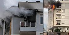 Yaşadığı evi ateşe verdi! Birde kapısına not yazıp kaçtı