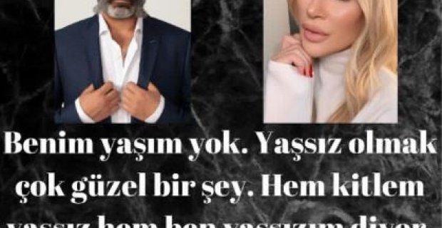 Seda Sayan 'Benim yaşım yok'