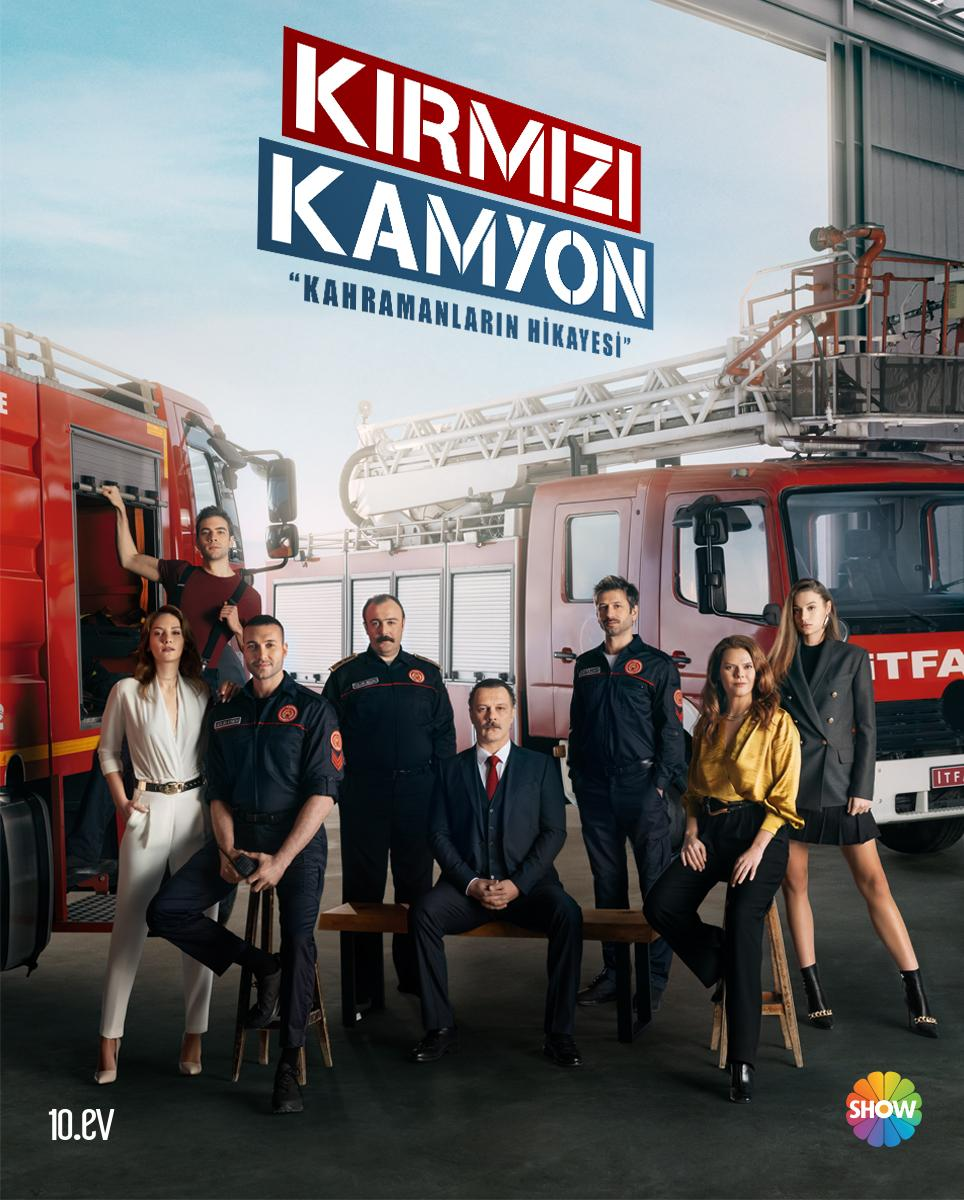 Kırmızı Kamyon dizisinin afişi yayınlandı