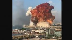 Beyrut'ta korkunç patlama