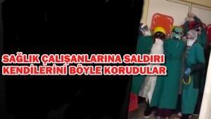 Ankara Keçiören'de sağlık çalışanlarına saldırı