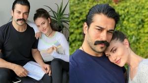 Burak Özçivit ile eşi Fahriye Evcen sosyal medyayı salladı!