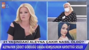 Aleyna Çakır'ın ses kayıtları kan dondurdu